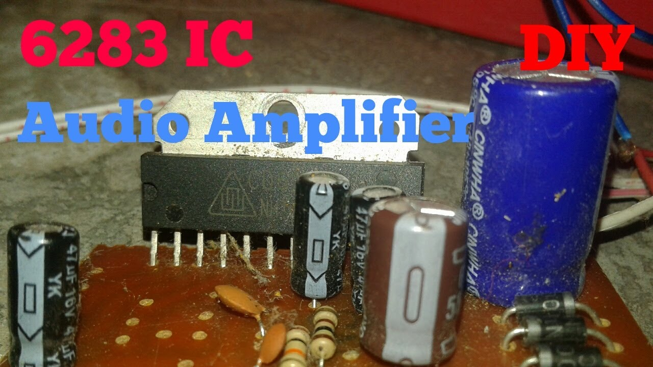 Homemade Loud Simple Amplifier 6283 Ic Diy Project Youtube La4440 Stereo D Mohankumar Audio