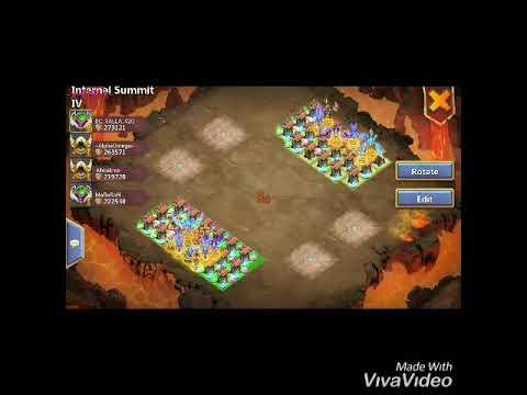 Infernal Summit 4 Castle Clash (New Update)