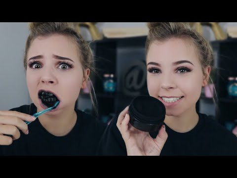 Does This Actually Work?! Charcoal Teeth Whitening Carbon Coco Review