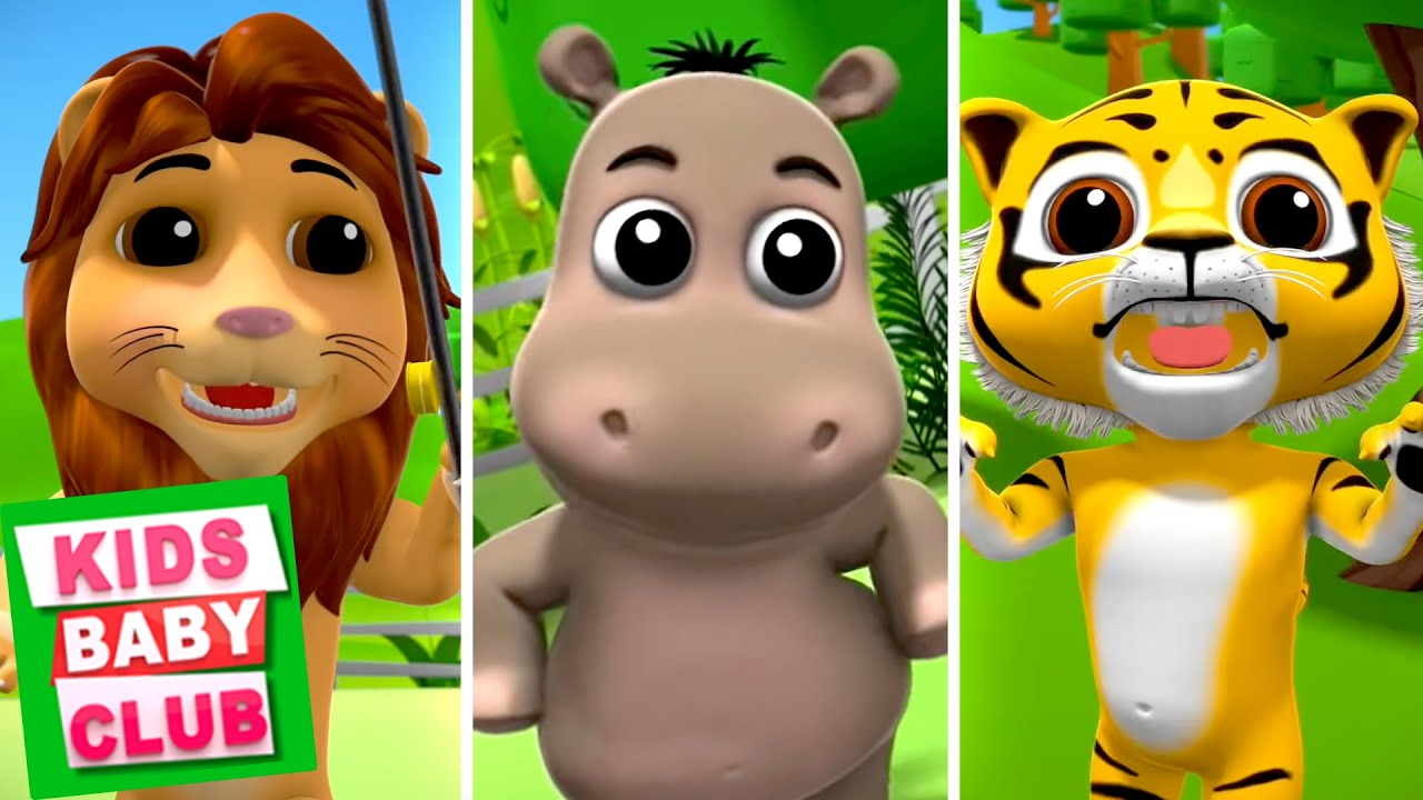 When Wild Animals Visit Us | Farmees Nursery Rhymes for Children | Cartoons for Kids