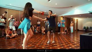 Malta Festival!  Bachata Workshop Fabian and Nicolina Dance Vida