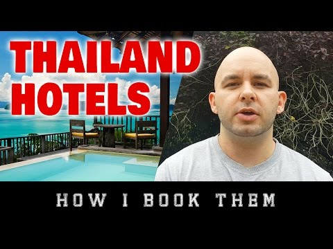 How I Book Hotels in Thailand