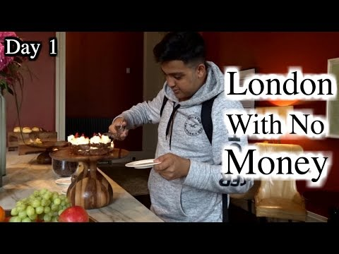London With No Money - Day 1 (London Hacks)