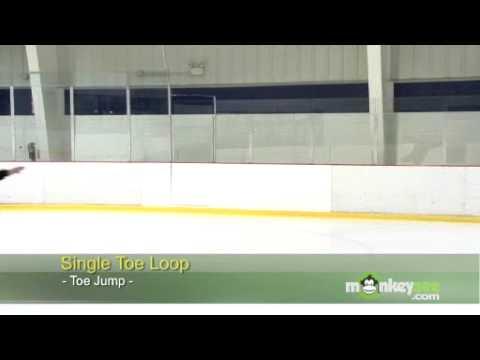 Ice Skating - The Toe Loop
