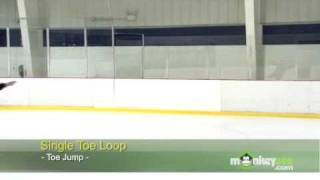 Ice Skating - The Toe Loop