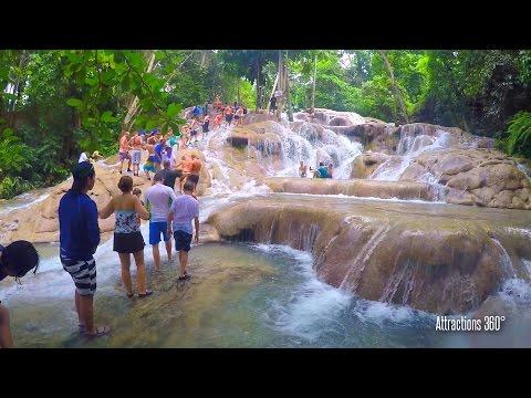 [HD] Climbing Dunn's River Falls - Jamaica's most famous Falls