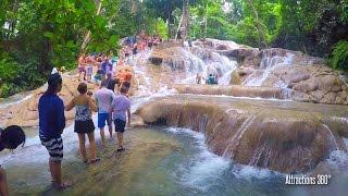 [HD] Climbing Dunn&#39s River Falls - Jamaica&#39s most famous Falls