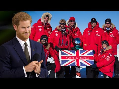 Prince Harry will officially be launching the Walk of America expedition before Meghan royal wedding