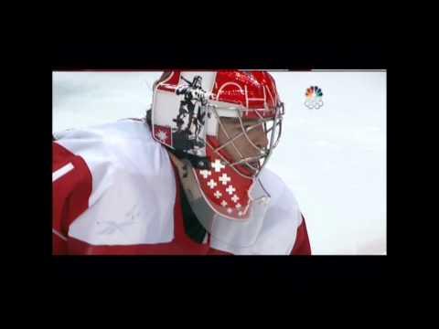 2010 Winter Olympics Men's Hockey - Canada vs Switzerland Shootout (with Sidney Crosby)