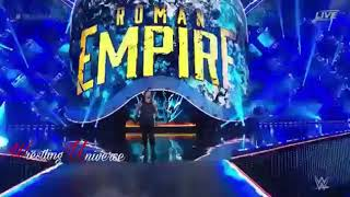 Roman Reings entrance WM 34...Please subscribe 4 more videos