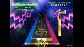 [K-Shoot Mania] POP TEAM EPIC [EXH] 創作譜面 (ˊ.ω.ˋ)凸修正