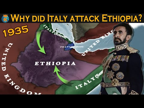 Why did Italy attack Ethiopia in 1935?