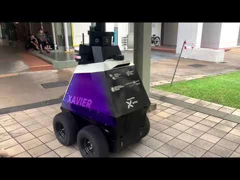 Robots police Singapore streets for 'bad behavior'