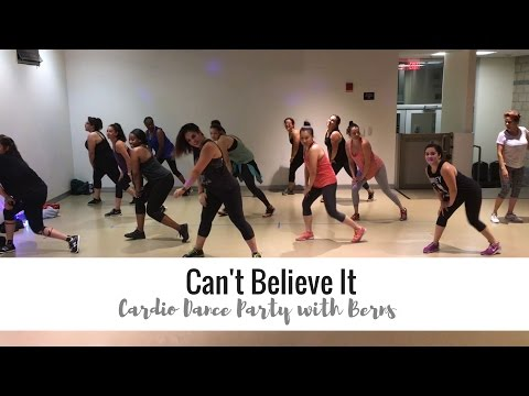 Can't Believe It By Flo Rida Ft Pitbull || Cardio Dance Party With Berns