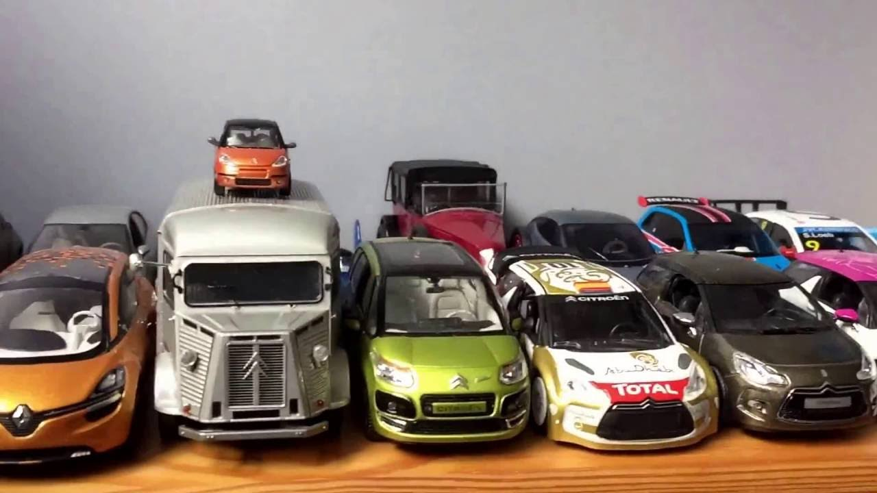 collection de voiture miniature youtube