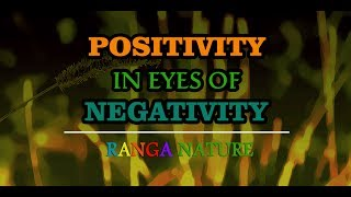 POSITIVITY IN EYES OF NEGATIVITY | RANGA NATURE