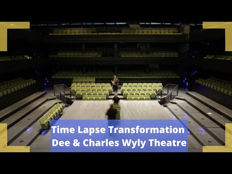 Time Lapse Transformation - Dee and Charles Wyly Theatre