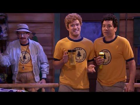 Justin Timberlake and Jimmy Fallon sing 'Ironic'...