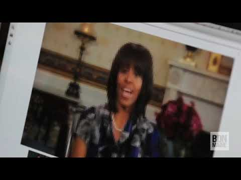 Brewer Community School students talk live with Michelle Obama