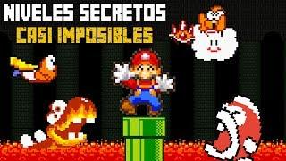 Top 8 Niveles Secretos Casi Imposibles en los Videojuegos - Pepe el Mago