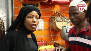 Mama Ashura abambwa akitaka kuiba mkoba Kariakoo