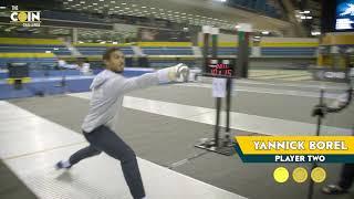 Daniel Jerent vs Yannick Borel FRA - Coinchallenge