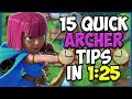 15 QUICK Tips About: Archers🏹
