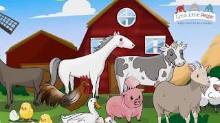 ANIMALES DE LA GRANJA Y LA JUNGLA EN INGLÉS PARA NIÑOS. Farm and wild animals in English for kids.