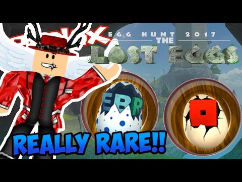 HOW TO GET THE RAREST EGGS IN THE EGG HUNT!! Roblox Egg Hunt 2017!!