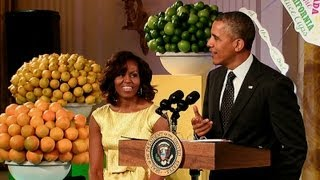 President Obama Speaks at the 2013 Kids' State Dinner