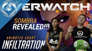 Overwatch: Infiltration Reaction - Sombra Revealed At Last!