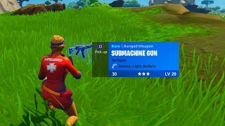 New SMG in Fortnite.. They got rid of the Tactical SMG :(