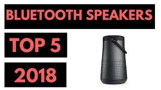 TOP 5: Best Bluetooth Speakers 2018 - Wireless Speakers