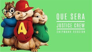 Repeat youtube video Justice Crew - Que Sera - Chipmunk Version