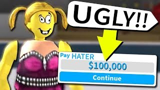 If Roblox players insult me.. they get ROBUX