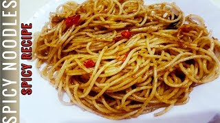 SPICY NOODLES RECIPE/SPAGHETTI RECIPE | BY STUNNING FOOD RECIPES