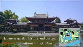 Japanese Zen garden history and design: Pt3 of Buddhist Gardens Videos