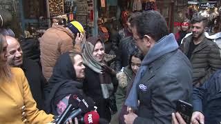 İmamoğlu'nun İstiklal Caddesi turu