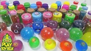 Combine Colors Slime Clay Jelly Monster Toys Orbeez Balloon Stressball