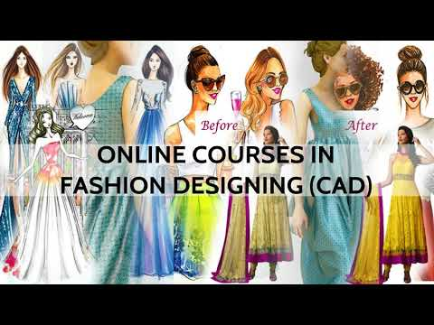 Online Fashion Designing Course Cad How Do We Teach Free Demo Class 1 Youtube
