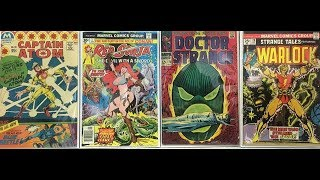 Comic Book Haul | Abandoned House Find | Marvel Bronze and Silver Age