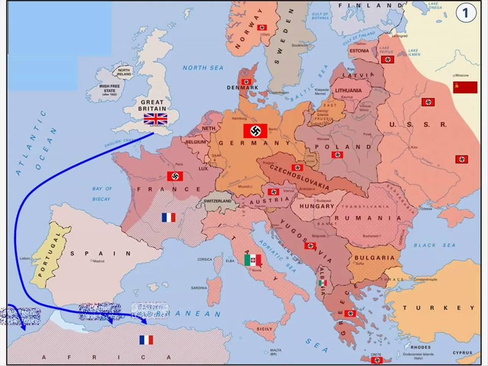 World War 2: European Occupation (1942 1945)   YouTube