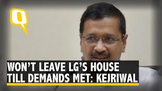 Arvind Kejriwal's Message For LG, From LG's House