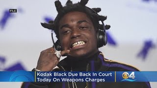 South Florida Rapper Kodak Black Due In Federal Court On Weapons Charges