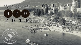 Vancouver Cannabis 420 2016 at Sunset Beach