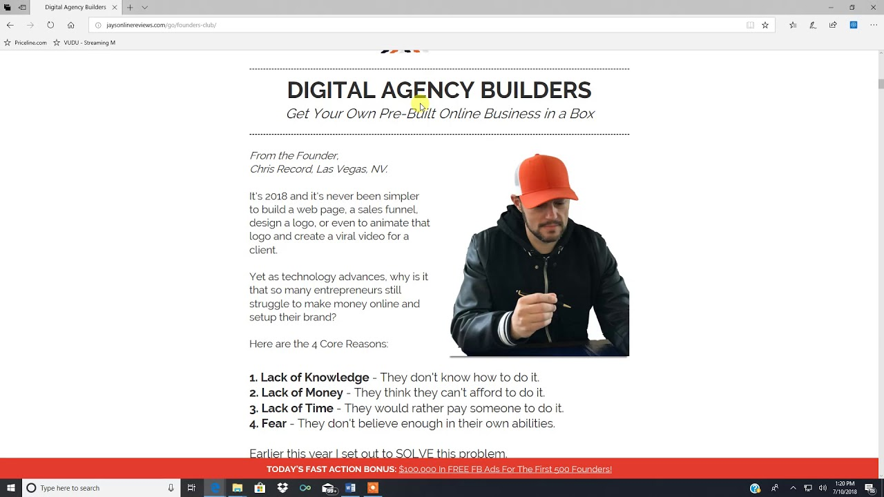 Digital Agency Builders Review - High Ticket Home Based Business ...