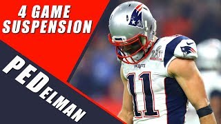 Julian Edelman Suspension Will Help the Patriots