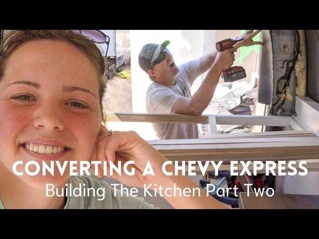 Kitchen Build (Part Two) Propane Hookup |Chevy Express Van Conversion