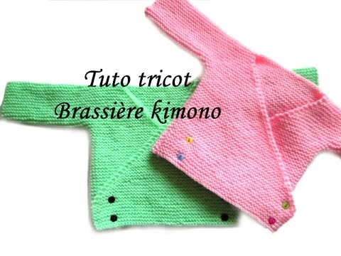 tuto tricot brassiere kimono bebe facile et rapide easy knitting baby youtube. Black Bedroom Furniture Sets. Home Design Ideas
