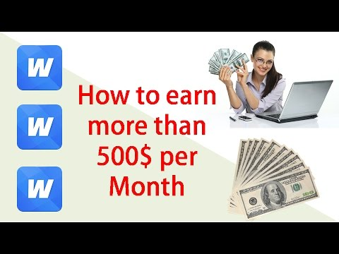 How to make money online by using Smartphone - How to make money fast using  WHAFF - Make money